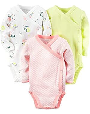 Baby Boys' 3 Pack Side Snap Bodysuits (Baby)