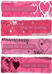 Write Me a Story - A Journal (Grunge Hearts - College Rule): Stories. Songs. Poems. Journey.