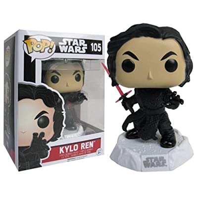 Star Wars The Force Awakens Kylo Ren Funko Pop with Box Protector