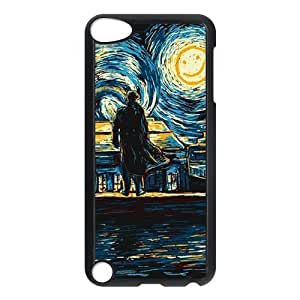 CTSLR Hot TV Show Sherlock Hard Case Cover Skin for iPod Touch 5 5G 5th Generation- 1 Pack - Black/White - 4