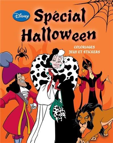 Spécial Halloween : Coloriages, jeux et stickers]()