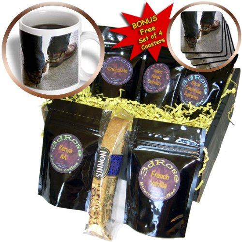 cgb_98397_1 Roni Chastain Photography - man with cowboy boots with spurs - Coffee Gift Baskets - Coffee Gift Basket