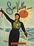 SUN VALLEY IDAHO ALPINE SKI RACER GRETCHEN GOLD MEDAL 1948 OLYMPIC GAMES SKIING VINTAGE POSTER REPRO