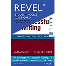 REVEL for Strategies for Successful Writing -- Access Card (11th Edition)