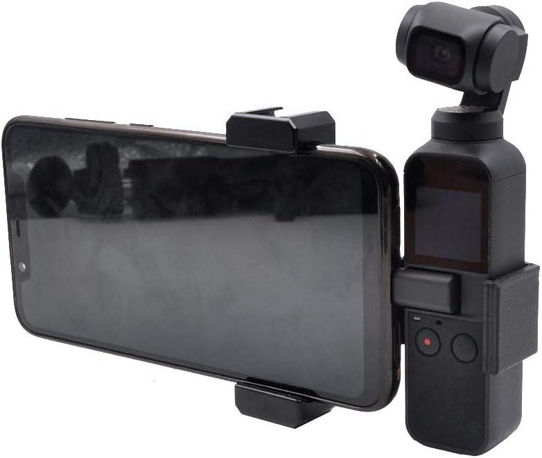 Iusun for DJI Osmo Pocket Handheld Tripod Smartphone Gimbal Stabilizer Extended Adapter Compact Lightweight Aluminum Universal Holder Base Set Camera Screw Bracket Accessorie Travel Work