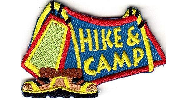 TAKE A HIKE Iron On Patch Scouts Cub Girl Boy Sports Hiker