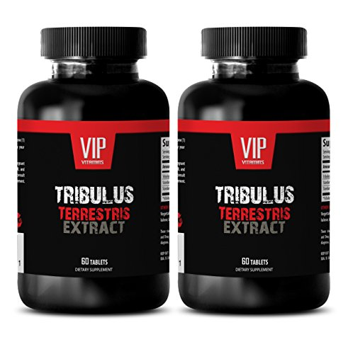 Testosterone supplements sex - NATURAL TRIBULUS TERRESTRIS 1000MG - Tribulus terrestris extract testosterone - 2 Bottle (120 Capsules) by VIP Supplements