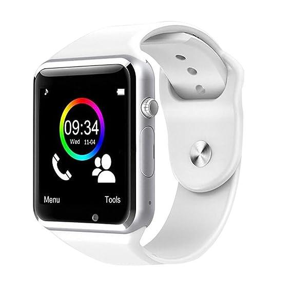 Amazon.com: Bluetooth Smartwatch GSM Touch Screen Smart ...