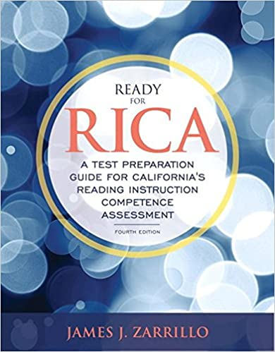 Amazon ready for rica a test preparation guide for ready for rica a test preparation guide for californias reading instruction competence assessment with enhanced pearson etext access card package 4th fandeluxe Image collections