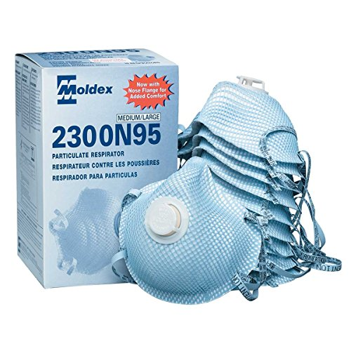 Moldex 2300N95 Particulate Respirator (1 case- by Moldex