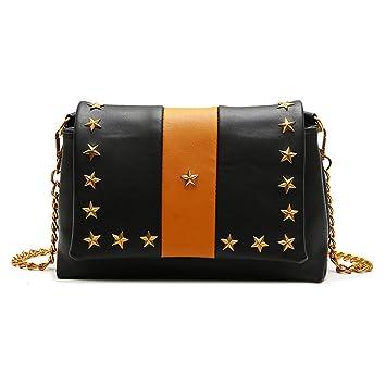 0d578741a76c Amazon.com: Cujubag Women Shoulder Bag Ladies Chain Messenger Bags ...