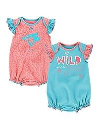 Toronto Blue Jays Newborn Girls Team Sparkle 2-Pack Bodysuit Set