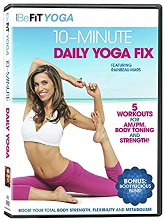 Amazon.com: BeFit: 10-Minute Daily Yoga Fix [DVD]: Movies & TV