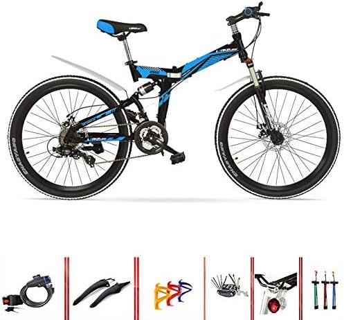 SYLTL Plegable Bicicleta de Montaña Velocidad Variable Unisex ...