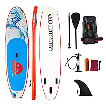 JOYSTAR Tabla de Surf Inflable de pie de 11 pies con Control ...