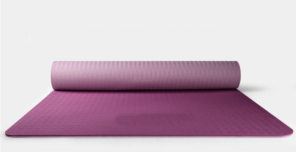 HZJ Frauen Naturkautschuk Yoga Mat Non Slip Perfekte Design Yoga Und Pilates Sport, Und Mehr Sicher Komfortable
