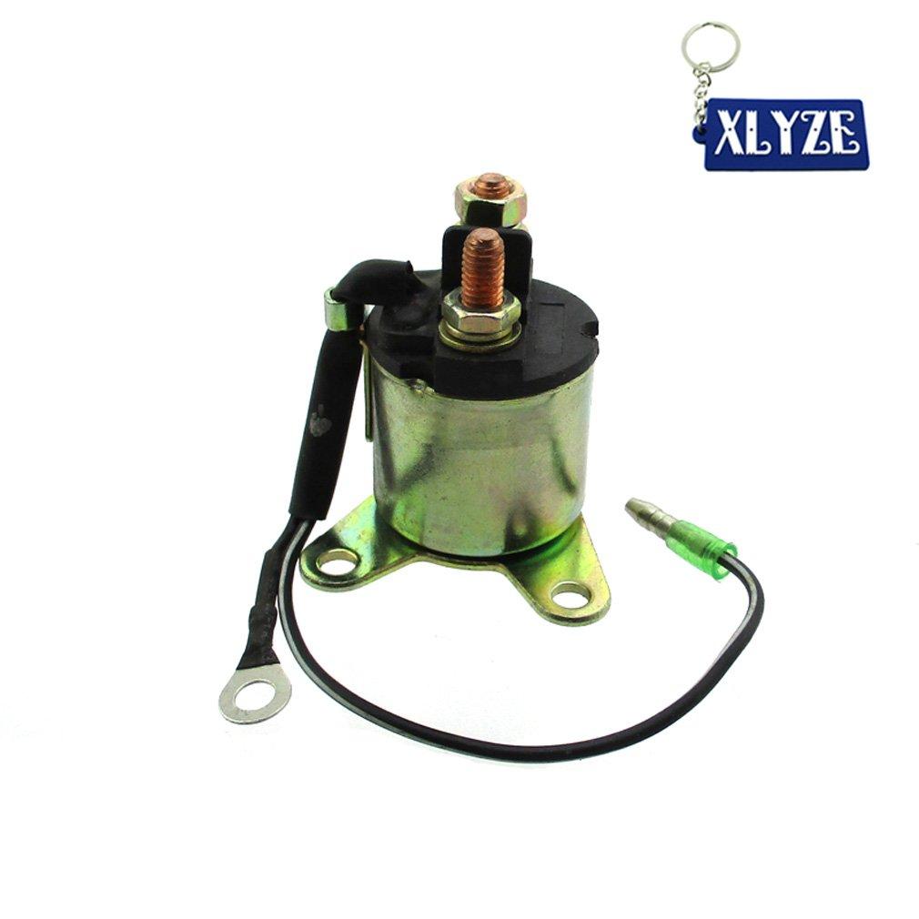 Amazon.com : XLYZE Solenoid Starter Relay For Honda GX160 5.5HP & GX200  6.5HP Engine Generator : Garden & Outdoor