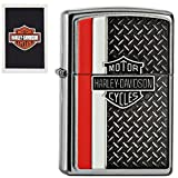 Harley Davidson Diamond Zippo Lighter
