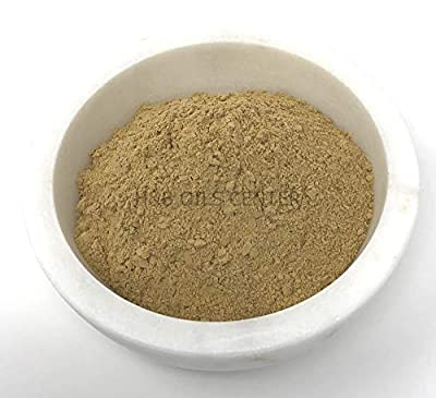 French Yellow Clay Organic Powder Deep Pore Mud Face Mask Cleanse Exfoliating Detox Skin Treatment 8 oz by H&B Oils Center Co.