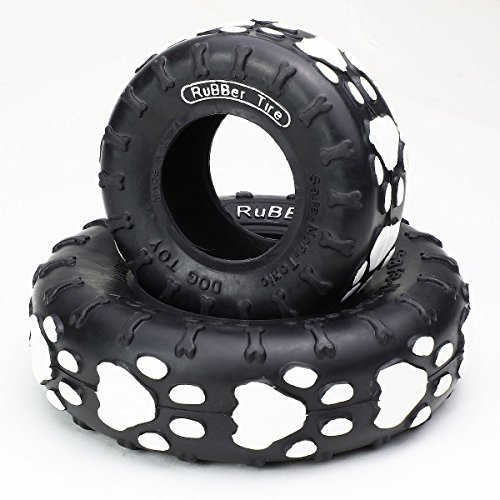 Magshion Rubber Tire Biter Chew Toy Set 3.5-5.5 Inch