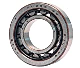 NU206 Cylindrical Roller Bearing 30x62x16 mm, Steel Cage, Open