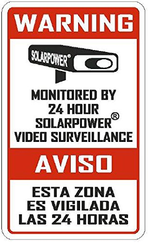 SECURITY SIGNS - 5 Pack Commercial & Home 3