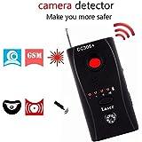 Wireless Detector for Spy Hidden Camera, Lens Detector Adjustable Detection Sensitivity Signal Bug RF Finder GSM Voice Device