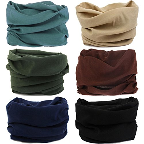 2bbc1c70f47 Headwear Head Wrap Sport Headband Sweatband 220 Patterns 12 in 1 Magic Scarf  12PCS   6PCS