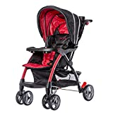 Dream On Me Maldives Lightweight Stroller, Red Review and Comparison