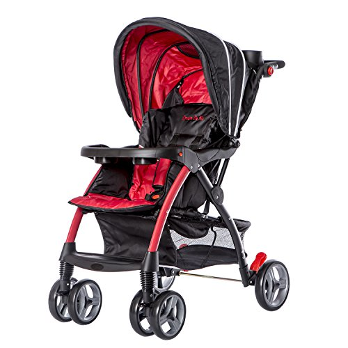 Dream On Me Maldives Lightweight Stroller, Red by Dream On Me