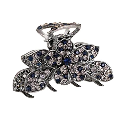 Stylish Hair Accessory Hair Clips Crystal Retro Updo Hairpin Durable Hair Grip S (Daisy From Great Gatsby Costume)