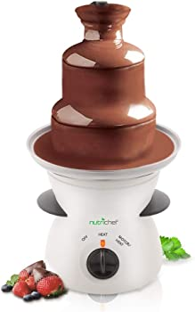 NutriChef Electric Stainless 3 Tier Chocolate Fountain