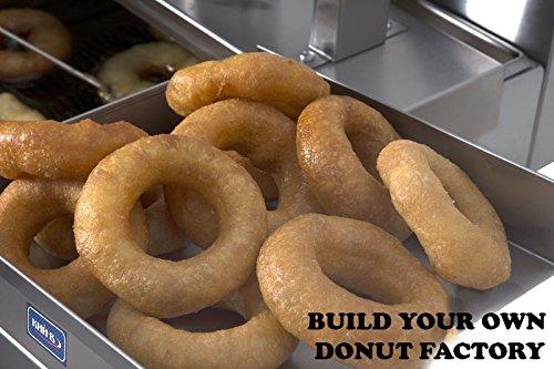 Amazon.com: Compacto freidora Donut Maker Máquina 80 Pc/H + ...