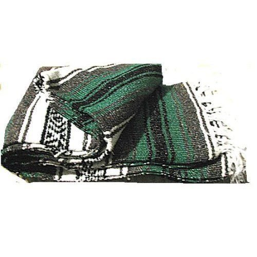 Price comparison product image #11 Mexico Striped Car Blanket Yoga Mat Throw Cover Curtain Afghan Outdoor Green