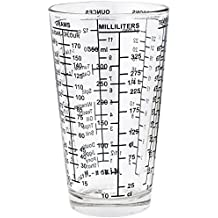 Dezine Products USA 1 1/2 Cup Mix-N-Measure Glass Measuring Cup