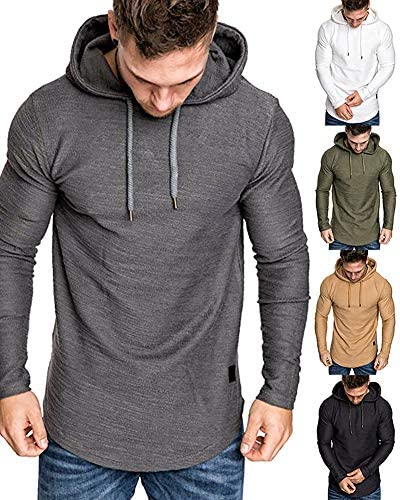 Cheap solid color hoodies _image1