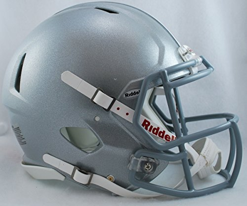 NCAA Ohio State Buckeyes Revolution Speed Full-Size Authentic Football Helmet -