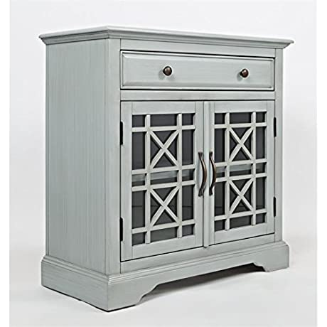 Jofran 375 32 Craftsman Accent Chest 32 W X 15 D X 32 H Earl Grey Finish Set Of 1