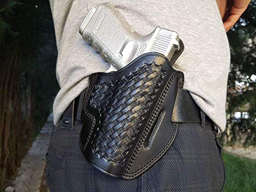- DAZZLING Pro | Glock 19 Leather OWB Holster Handmade