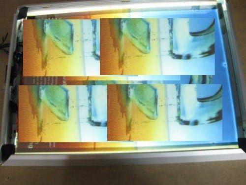 GOWE LED espejo caja de luz LED Magic espejo A2 tamaño interior caja de luz: Amazon.es: Juguetes y juegos