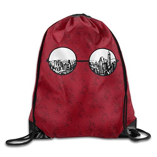 IYaYa Beauty In Sunglasses Drawstring Backpack Travel - Eyewear Scene