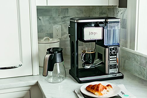 Ninja CF091 Coffee Makers on White Kitchen Counter