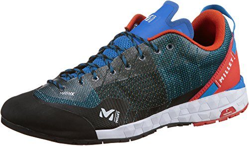 Millet Amuri, Zapatos de Escalada Para Hombre, Azul (Azul/Electric Blue/Orange), 46 EU