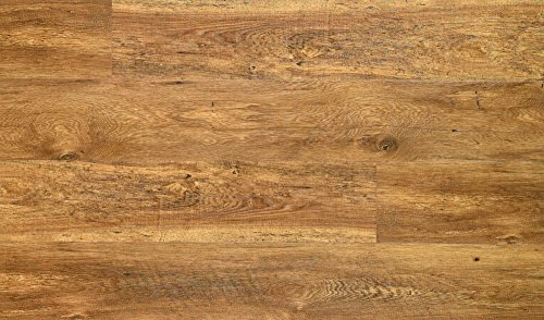 "Quickstep Dominion Laminate Flooring, 6.14"", Aged Chestnut Planks"