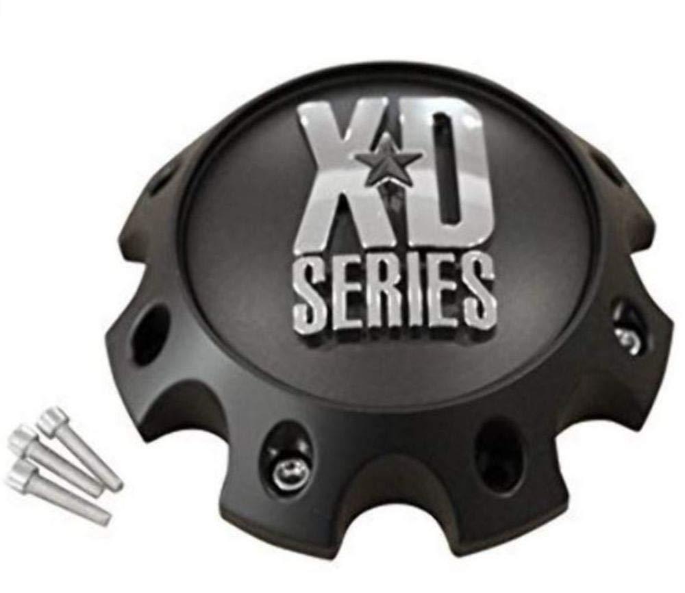 KMC XD Series 441 796 797 798 8 Lug Matte Flat Black Short Center Cap 309B170-8H