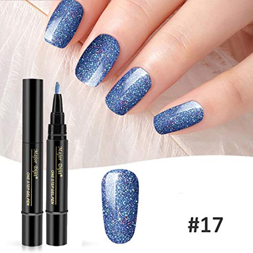 Sasarh 11 Colors Gel Nail Pen Glitter Only $3.90