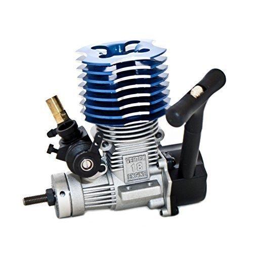 Xiangtat HSP 02060 BL VX 18 Nitro Engine 2.74cc Pull Starter for RC 1/10 Nitro Car Buggy - Rc Nitro Engine