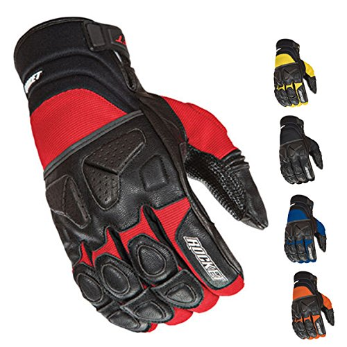 Joe Rocket Atomic X Gloves (MEDIUM) (BLUE/BLACK)