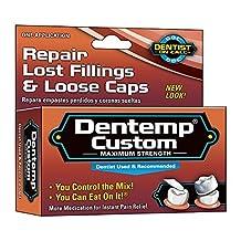 Dentemp Temporary Cavity Filling Mix - 1 App (Pack of 3)