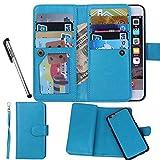 Urvoix For Apple iPhone 6/6S (4.7''), Wallet Leather Flip Card Holder Case, 2